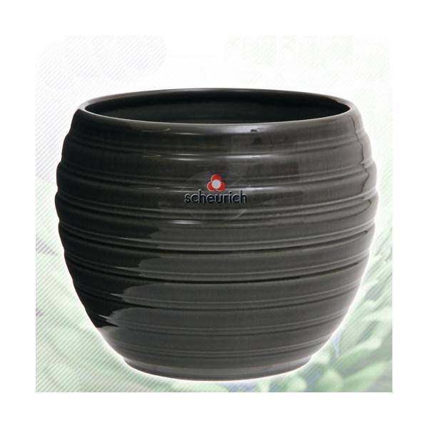 scheurich シューリッヒ鉢カバー グラスグレイ 730/16φ(3.5号鉢用)