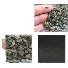 ウォールロック ナチュラル 30cm水槽用+渓流砂セット 沖縄別途送料