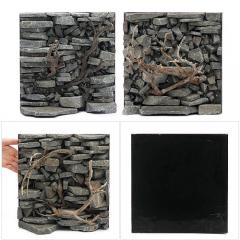 ウォールロック シャープ Ver.枝状流木 30cm水槽用 280×290mm(1個)(形状お任せ) 沖縄別途送料
