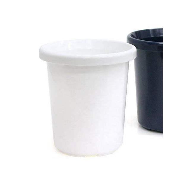長鉢 F型 5号(ホワイト)φ15.6×16.7cm