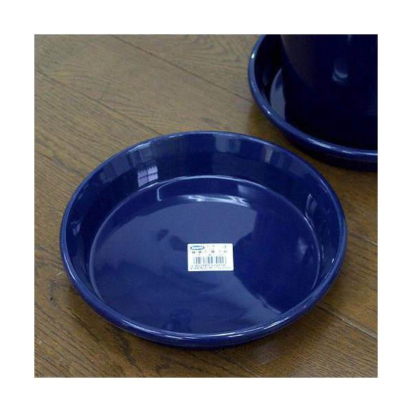 鉢皿 F型 7号(ブルー)