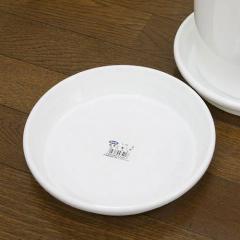 鉢皿 F型 7号(ホワイト)