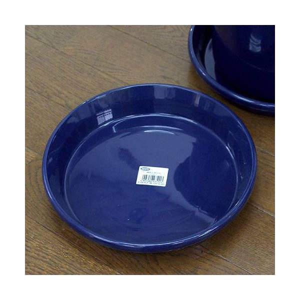 鉢皿 F型 8号(ブルー)