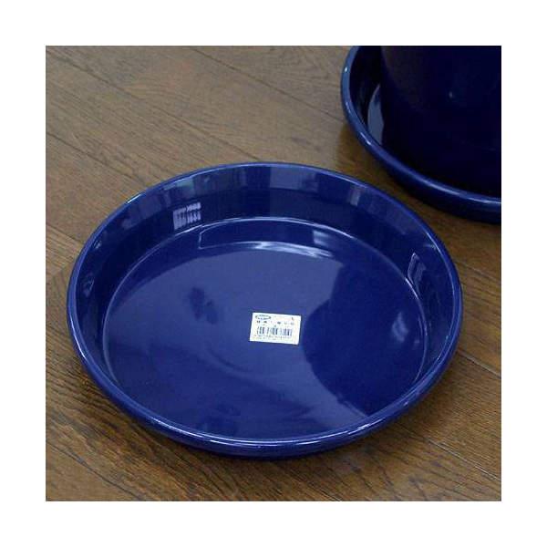 鉢皿 F型 9号(ブルー)