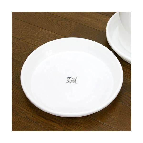 鉢皿 F型 9号(ホワイト)