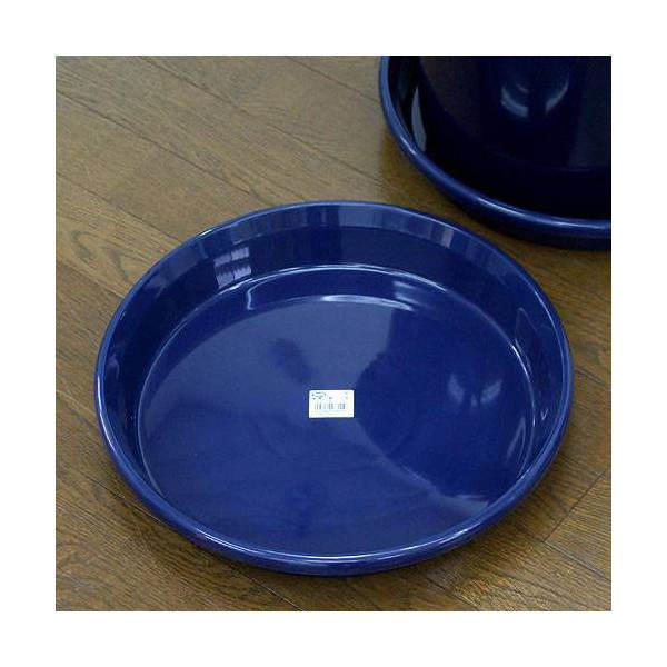 鉢皿 F型 12号(ブルー)