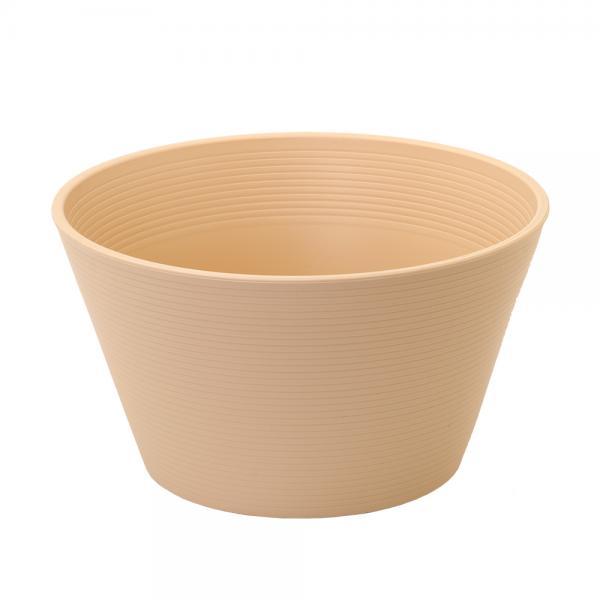 睡蓮鉢 メダカ鉢 金魚鉢 ベージュ 直径44cm 高さ25cm 軽量2kg、割れにくい、頑丈な厚み1.2cm お一人様1点限り