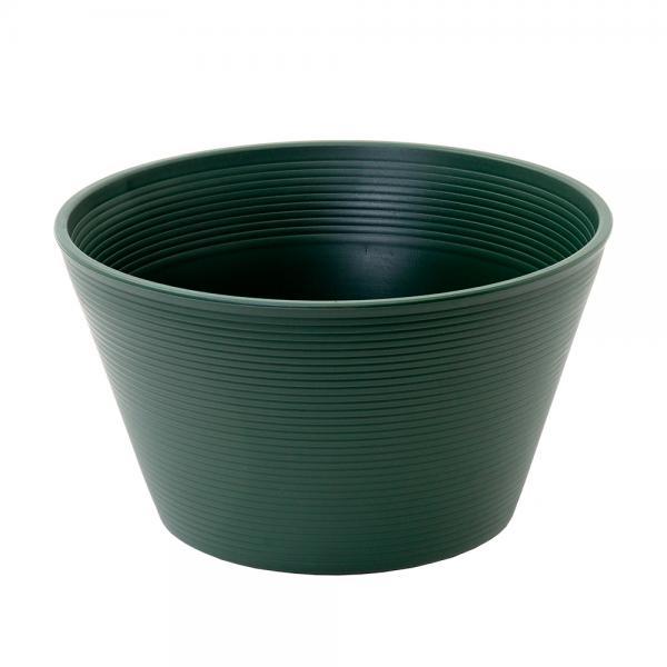 睡蓮鉢 メダカ鉢 金魚鉢 グリーン 直径44cm 高さ25cm 軽量2kg、割れにくい、頑丈な厚み1.2cm お一人様1点限り