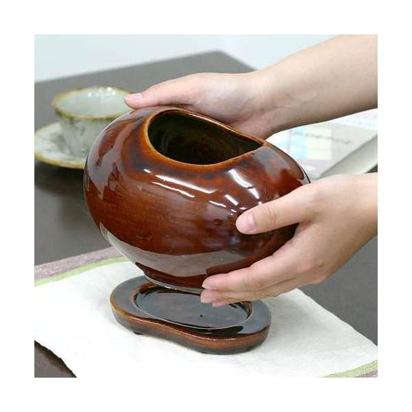 ビーンズ 茶 S 穴有(W20×D13.5×H12cm) SO17SBr
