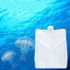 (海水魚)足し水くん 天然海水「クラゲ水」(海洋深層水) 3リットル(3袋セット)クラゲ飼育 アクアリウム 航空便不可