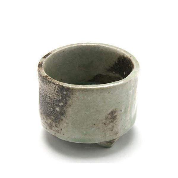 益子焼 苔BOX 小 信楽 丸 鉢底穴あり(直径6×H4cm)ミニミニ盆栽鉢