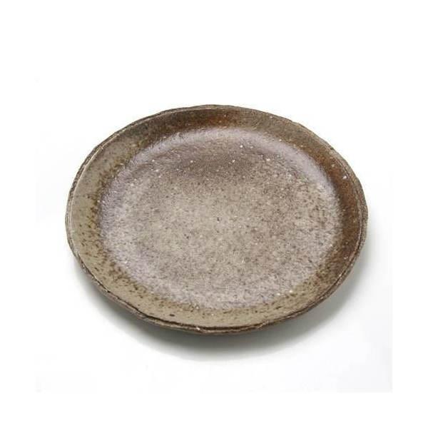 苔受皿 浅中 信楽 丸 ミニミニ盆栽鉢