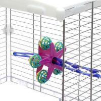 スドー パーチスターボール 鳥 おもちゃ 固定式
