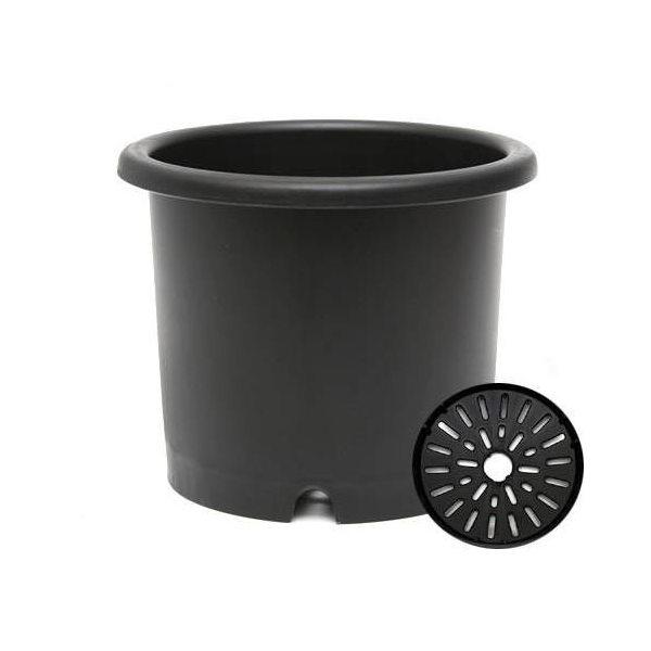 リッチェル 菊鉢 ブラック 5号 園芸 ガーデニング 菊