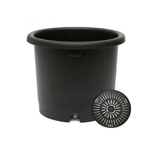 リッチェル 菊鉢 ブラック 7号  園芸 ガーデニング 菊