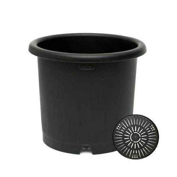 リッチェル 菊鉢 ブラック 10号 園芸  ガーデニング 菊 お一人様4点限り