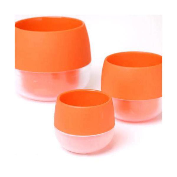リトル ビビ 鉢(ビビッドオレンジ)φ4.5×5cm