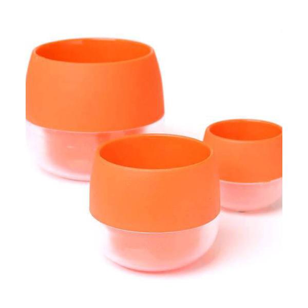 キュート ビビ 鉢(ビビッドオレンジ)φ6×6.5cm