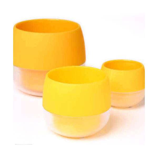キュート ビビ 鉢(イエロー)φ6×6.5cm