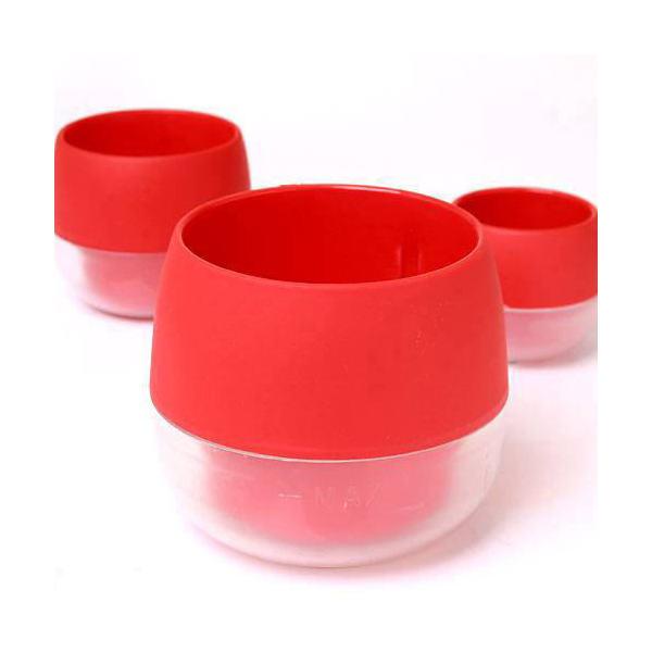 ハイミニ ビビ 鉢(シグナルレッド)φ8×9cm