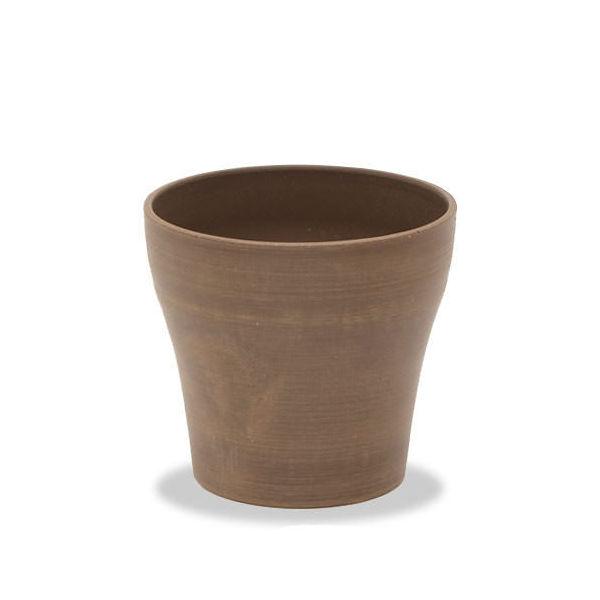 アンティーク調 樹脂ポット 12AD20 チョコレート 20×18cm ガーデニング ポット 鉢