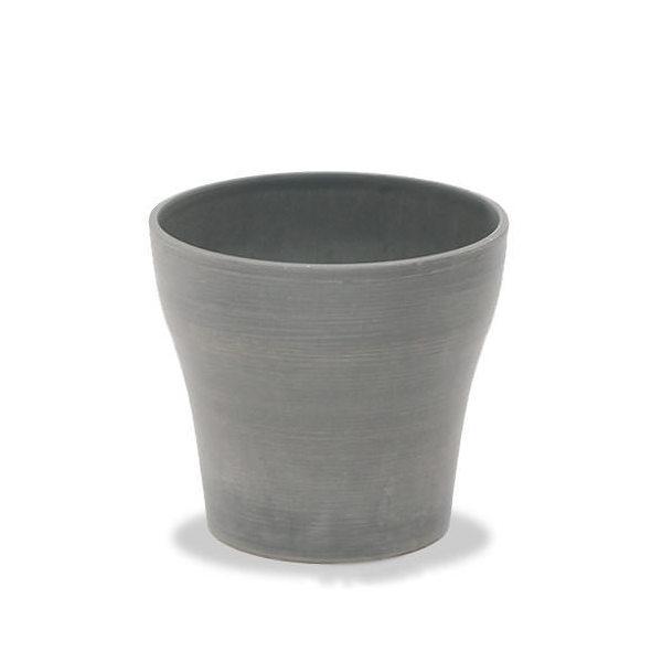 アンティーク調 樹脂ポット 12AD20 ライトグレー 20×18cm ガーデニング ポット 鉢