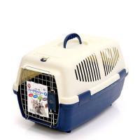 マルカン ハードキャリーM ブルー 犬 猫 キャリーバッグ キャリーケース(4~7kgまで) お一人様3点限り