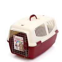 マルカン ハードキャリーL レッド 犬 猫 キャリーバッグ キャリーケース(5~9kgまで) お一人様2点限り