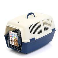 マルカン ハードキャリーL ブルー 犬 猫 キャリーバッグ キャリーケース(5~9kgまで) お一人様2点限り
