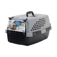 ペットスイート S グレー 犬 猫 うさぎ キャリーバッグ キャリーケース クレート(4.5kgまで) お一人様5点限り