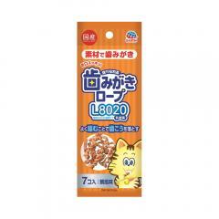 食べられる歯みがきロープ 愛猫用 鯛風味 7個入り 猫 猫用歯磨き 歯みがき