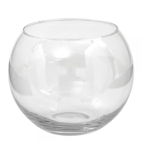 ガラスベース フローラボール L 18cm エアプランツ 多肉植物 ティランジア ガラス お一人様2点限り