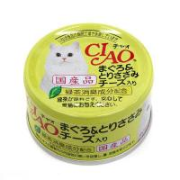箱売り いなば CIAO(チャオ) まぐろ&とりささみ チーズ入り 85g 1箱24缶入り キャットフード CIAO チャオ
