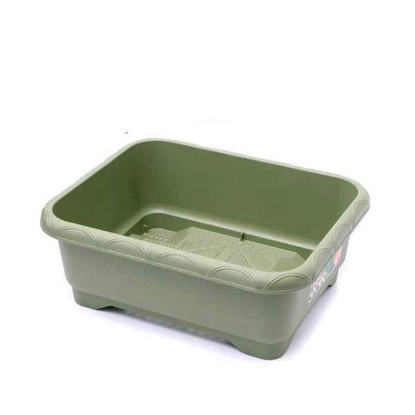 リッチェル 緑のやさいプランター 50型(グリーン) 3個売り お一人様1点限り