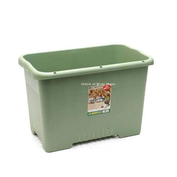 リッチェル 菜園上手 ジャンボ65型(グリーン)3個 同梱不可