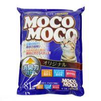 猫砂 クリーンミュウ モコモコオリジナル 8L 1箱6袋入り 猫砂 紙 固まる 流せる 燃やせる