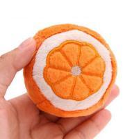 ペッツルート まんまるフルーツ オレンジ 犬 犬用おもちゃ ぬいぐるみ