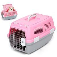 マルカン 2ドアキャリー 小型犬・猫用 ピンク 犬 猫 キャリーバッグ キャリーケース(5kgまで)
