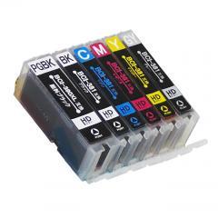 送料無料 BCI-381XL+380XL/6MP キヤノン互換インクカートリッジ Canon BCI-380+381シリーズ 6色セット