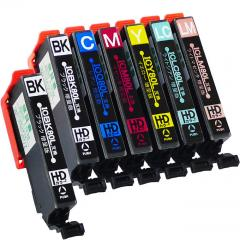 送料無料 IC6CL80L+ICBK80L エプソン互換インクカートリッジ EPSON互換 IC80シリーズ 6色セット増量版+ブラック増量版