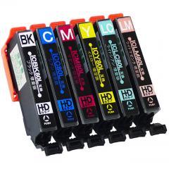 送料無料 IC6CL80L エプソン互換インクカートリッジ EPSON互換 IC80シリーズ 6色セット増量版