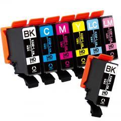 送料無料 KAM-6CL-L エプソン互換インクカートリッジ EPSON互換 KAM(カメ)互換シリーズ 6色セット+黒1本 (KAM-6CLの増量版)