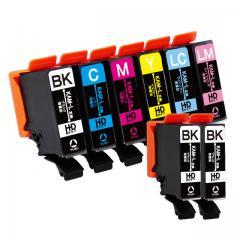 送料無料 KAM-6CL-L エプソン互換インクカートリッジ EPSON互換 KAM(カメ)互換シリーズ 6色セット+黒2本 (KAM-6CLの増量版)