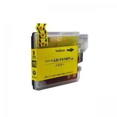 送料無料 LC11Y ブラザー互換インクカートリッジ brother LC11/16シリーズ イエロー