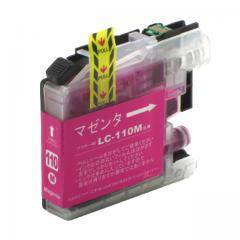 送料無料 LC110M ブラザー互換インクカートリッジ brother LC110シリーズ マゼンタ