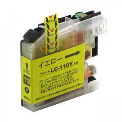 送料無料 LC110Y ブラザー互換インクカートリッジ brother LC110シリーズ イエロー