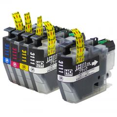 送料無料 LC3111-4PK-1BK ブラザー互換インクカートリッジ brother LC3111シリーズ 4色+ブラック1本セット