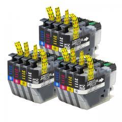 送料無料 LC3111-4PK-3SET ブラザー互換インクカートリッジ brother LC3111シリーズ 4色×3セット