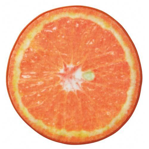 リアルモチーフタオル Orange オレンジ 1415903 ヘミングス コンシェルジュ