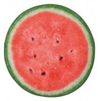 リアルモチーフタオル Water Melon スイカ 1415904 ヘミングス コンシュルジュ